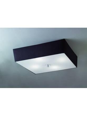 Plafon de techo Akira 4 luces tela colores de Mantra