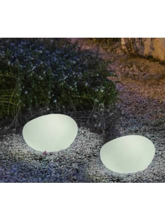 Lámpara suelo Petra LED IP65 exterior - Newgarden