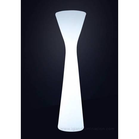 Lámpara de pie Konika 170cm IP65 exterior - Newgarden