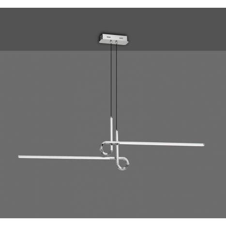 Lámpara colgante Cinto 24w cromo - Mantra