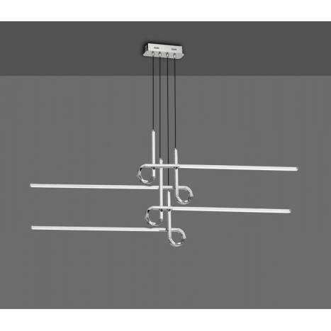 Lámpara colgante Cinto 42w cromo - Mantra