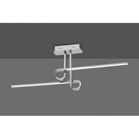 Lámpara de techo Cinto 20w cromo - Mantra