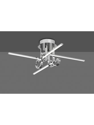 Lámpara de techo Cinto 28w cromo - Mantra