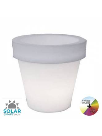 NEWGARDEN Magnolia IP65 RGB Solar LED flower pot