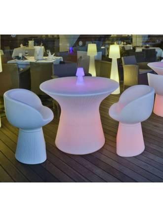 Mesa iluminada Capri Solar LED RGB IP65 - Newgarden