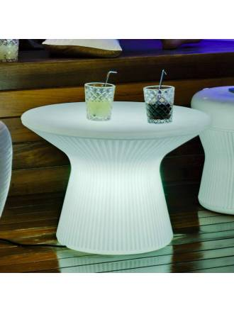Mesa iluminada Capri LED IP65 exterior - Newgarden