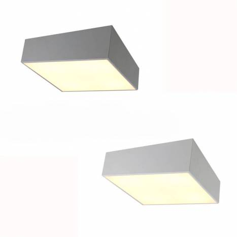 Mantra Mini 5L E27 square ceiling lamp