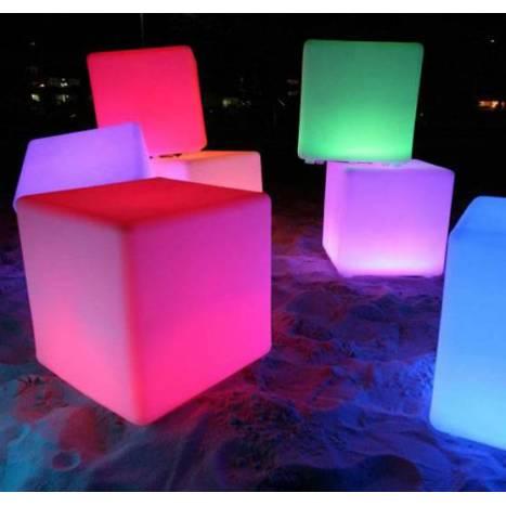 NEWGARDEN Cuby IP65 RGB Solar LED lamp