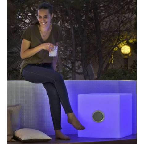 NEWGARDEN Cuby Play lamp + speaker RGB