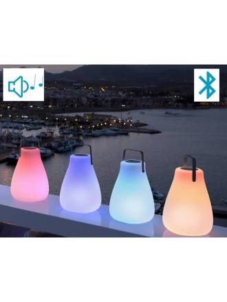 NEWGARDEN Kurby Play lamp + speaker RGB