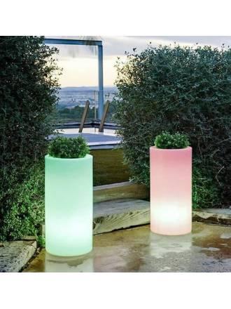 NEWGARDEN Palma IP65 RGB Solar LED flower pot