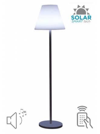 Lámpara de pie Lolayla Solar + altavoz - Newgarden