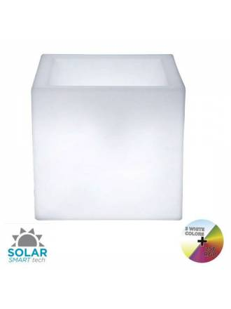 Macetero Narciso Solar LED RGB IP65 exterior - Newgarden