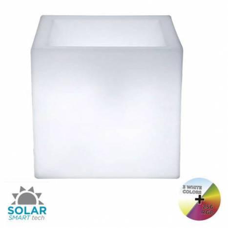 NEWGARDEN Narciso IP65 RGB Solar LED flower pot