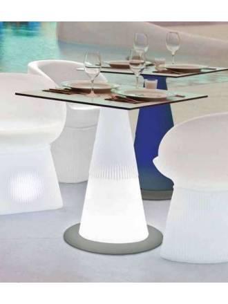 Mesa iluminada Itaca Solar LED RGB IP65 - Newgarden