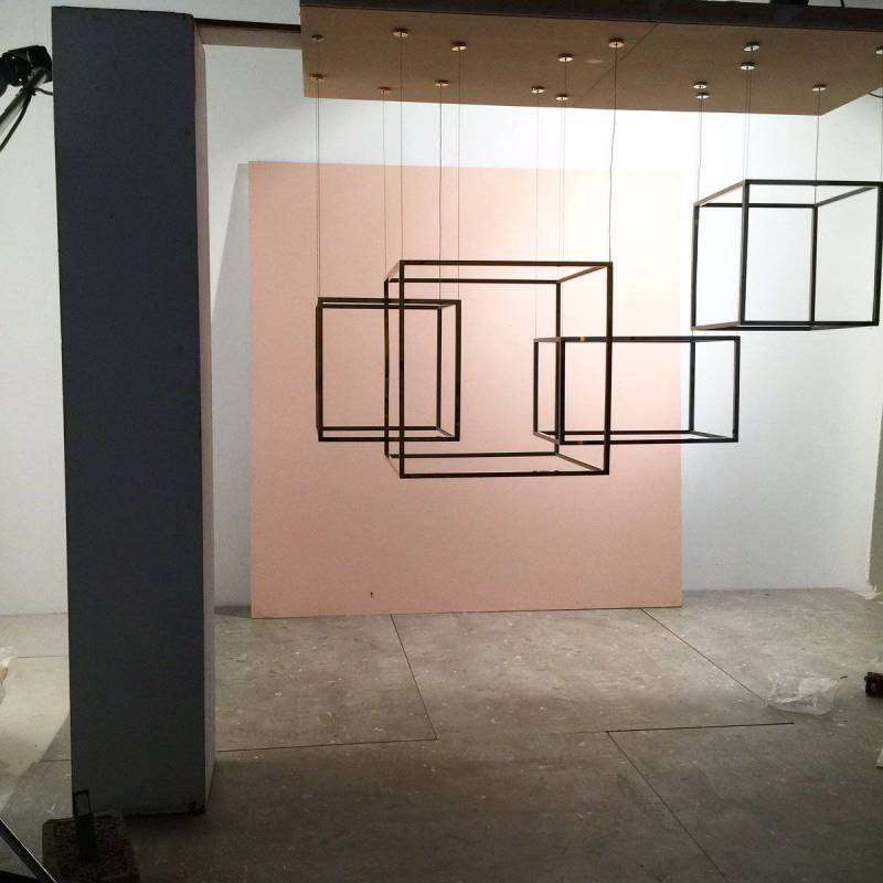 Aromas Cube X Led Pendant Lamp Metal
