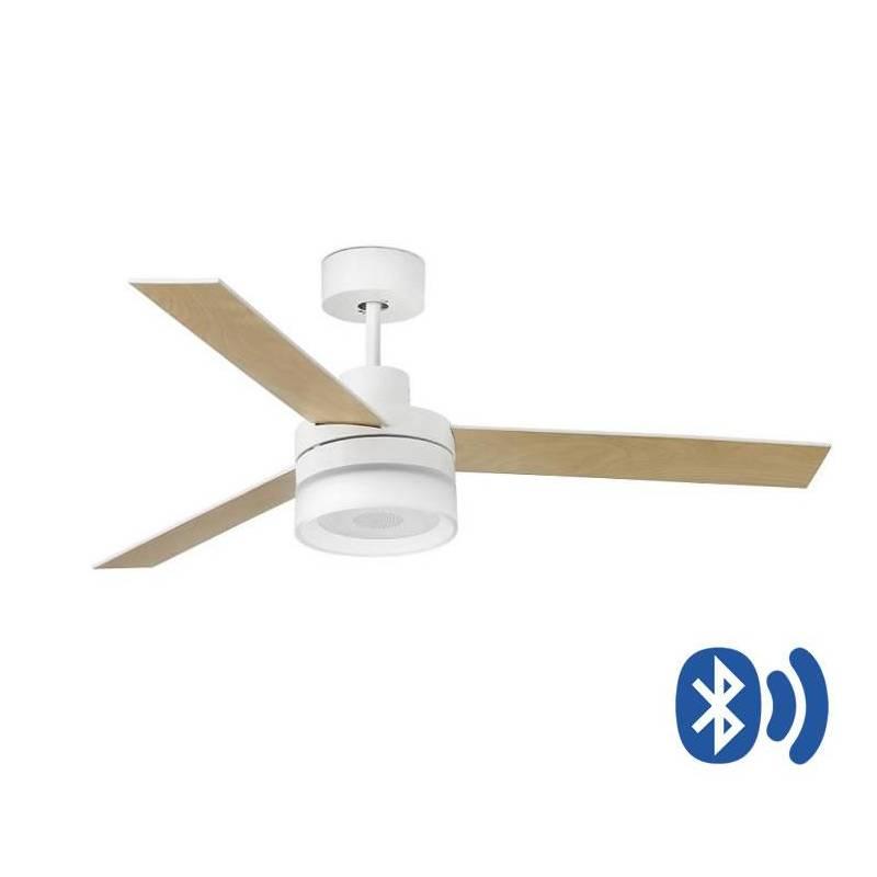 Bluetooth Ceiling Fan: FARO Ice LED Ceiling Fan Bluetooth Speaker
