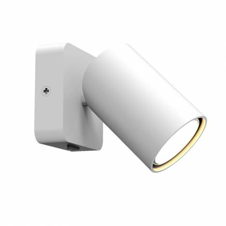 Aplique de pared Sal 1L GU10 blanco - Mantra