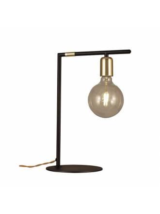 Lámpara de mesa Rendo negro + oro - Aromas