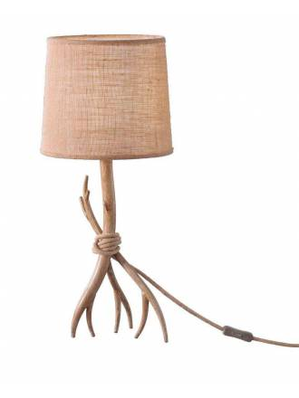 MANTRA Sabina 1L decorated metal table lamp
