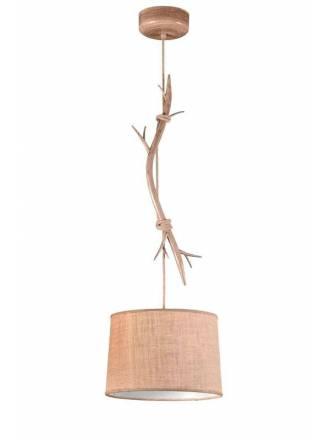 MANTRA Sabina 35cm decorated metal pendant lamp