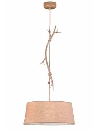 MANTRA Sabina 60cm decorated metal pendant lamp