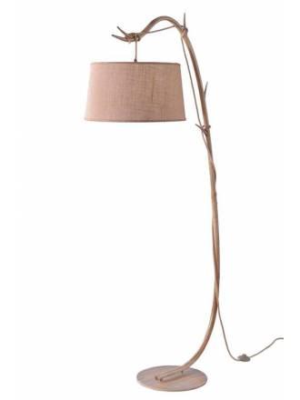 MANTRA Sabina 1L decorated metal floor lamp