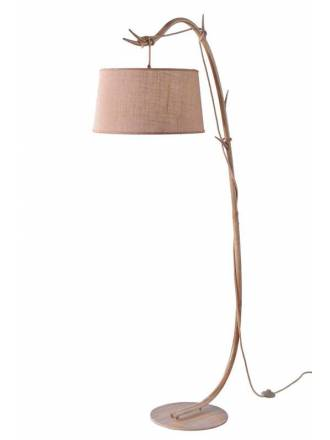 MANTRA Sabina 1L decorated metal floor lamp