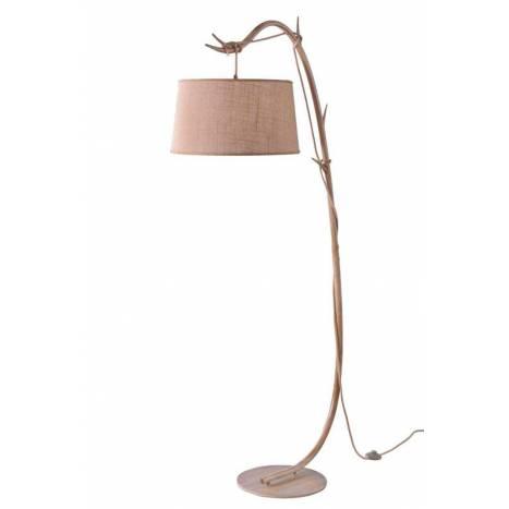 Lámpara de pie Sabina 1L metal decorado - Mantra