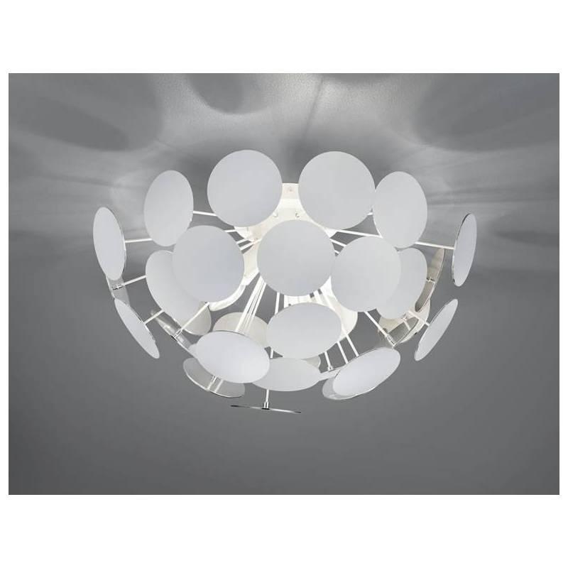 Trio Discalgo Ceiling Lamp 3l E14 White