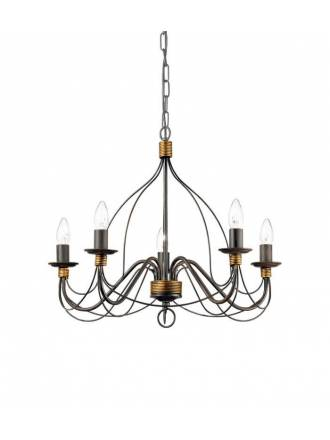IDEAL LUX Corte SP pendant lamp brown