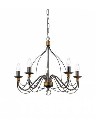 Lámpara colgante Corte SP oxido - Ideal Lux