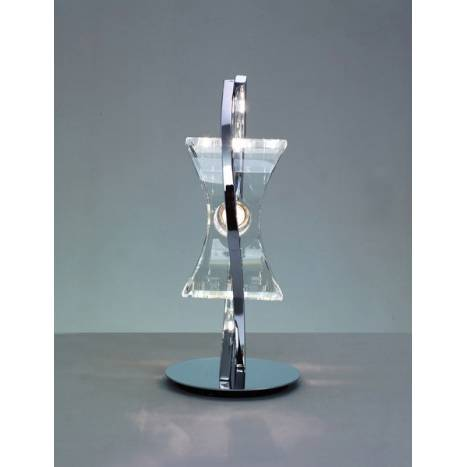 Mantra Krom table lamp 1 light chrome