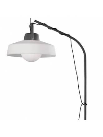 Lámpara de pie Kinke IP65 40cm antracita - Mantra