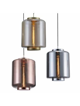 Lámpara colgante Jarras 30cm cristal - Mantra