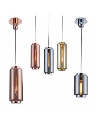 Lámpara colgante Jarras 17cm cristal - Mantra