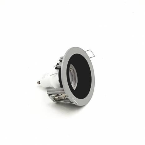 Foco empotrable 181 gris y negro de Onok