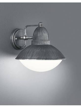 TRIO Amur wall lamp 1L E27 IP44 iron