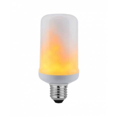 LED Flame effect light bulb E27 6w