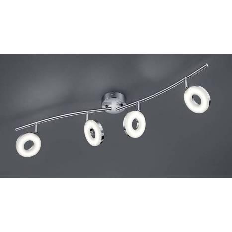 Trio Rennes spotlight 4L LED chrome