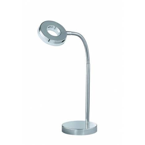 Trio Rennes table lamp 1L LED chrome