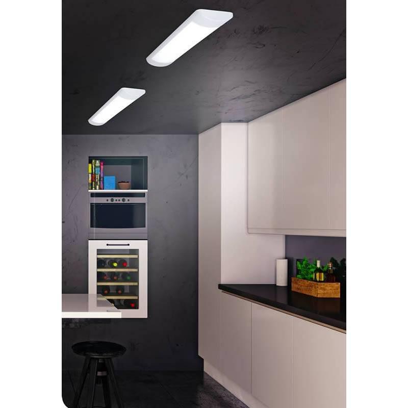 JUERIC Split A++ LED ceiling lamp white