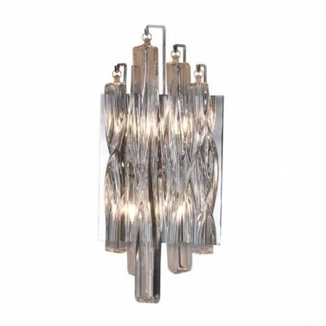 Aplique de pared Manacor 2 luces cristal transparente Schuller