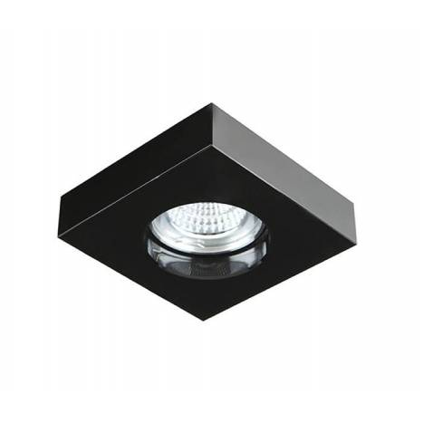 YLD SC760SQBK recessed light black glass