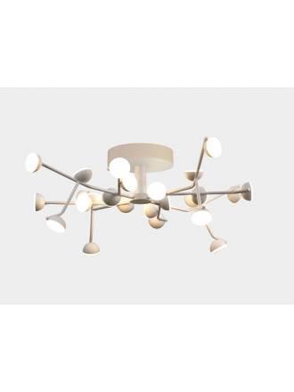 Lámpara de techo Adn LED 72w aluminio blanco - Mantra