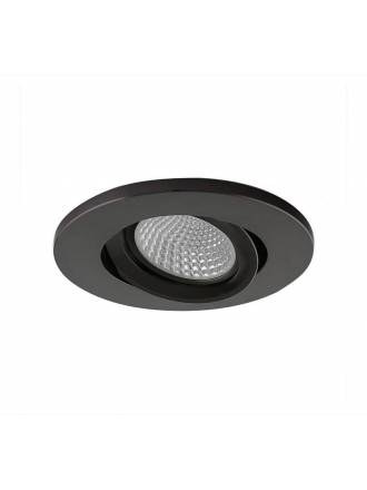 YLD NC1860RBK recessed light black aluminium