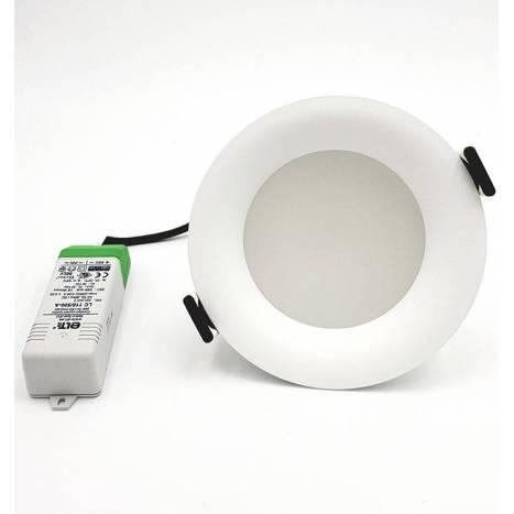 Downlight Drop Mini LED IP43 blanco - Arkoslight