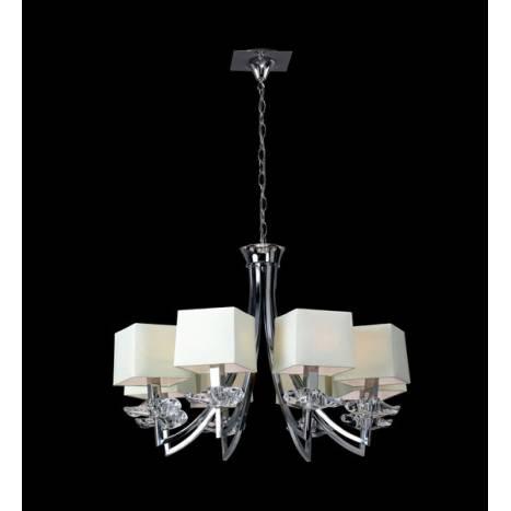 Mantra Akira ceiling lamp 8L