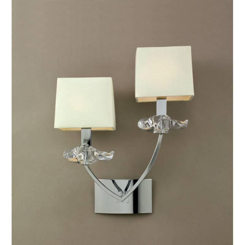 Mantra Akira wall lamp 2L cream shade