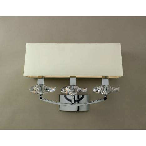 Mantra Akira wall lamp 3L cream shade